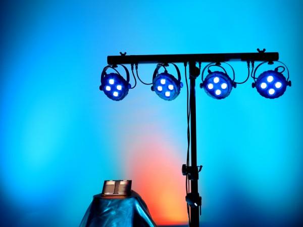 LED Scheinwerfer Set KLS-150 für bis zu 40 Personen