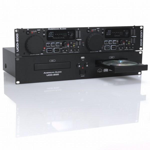 American Audio UCD200 MKII - Double CD/USB/MP3-Player