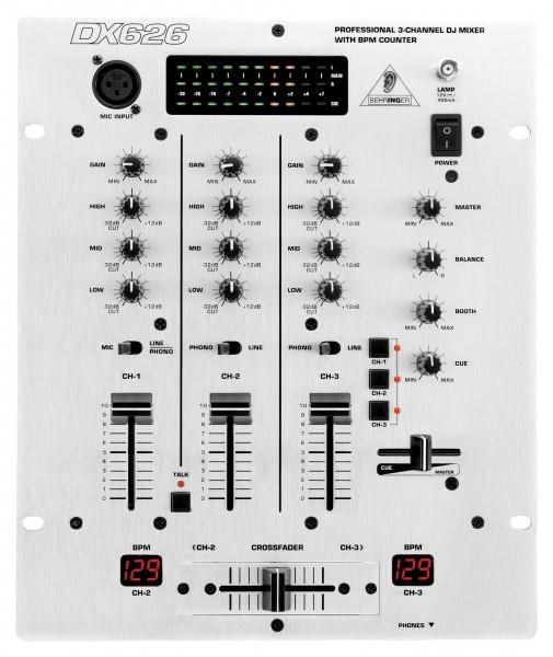 DX626 DJ-Mischpult