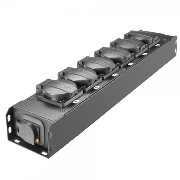 Stromverteiler PROPORT 6fach PowerCon True