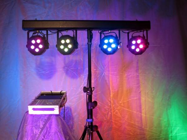 LED Scheinwerfer Set 5x3W für bis zu 60 Personen