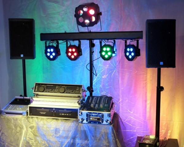 Partyset für bis zu 120 Gäste