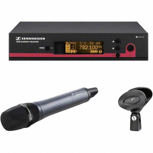 Drahtloses Mikrofonsystem mit Handsender SKM145 Sennheiser EW100
