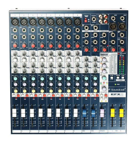 Soundcraft Live Mixer EFX-8