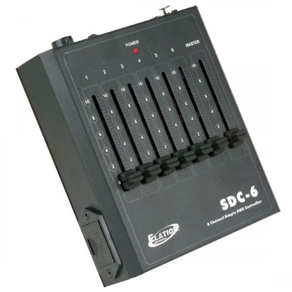 Elation SDC-6 6 Kanal DMX Lichtsteuerung