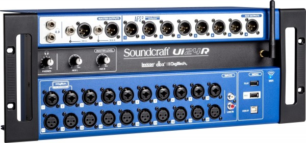 Soundcraft Ui24R Digital Mischpult Stagebox