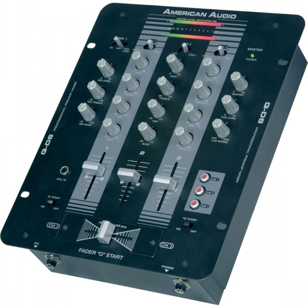 Q-D6 DJ-Mischpult